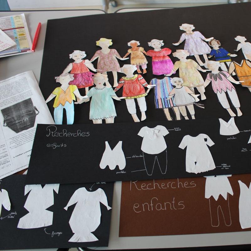 costumes d'enfants